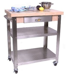Kitchen Cart with Drawer by John Boos Image
